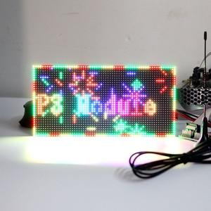 Image 2 - P3 Indoor Full Color LED Display Module,192mm x 96mm, 64*32 Pixels,SMD 3 in 1 RGB P3 LED Panel, P4 P5 P6 P10 Video LED Module
