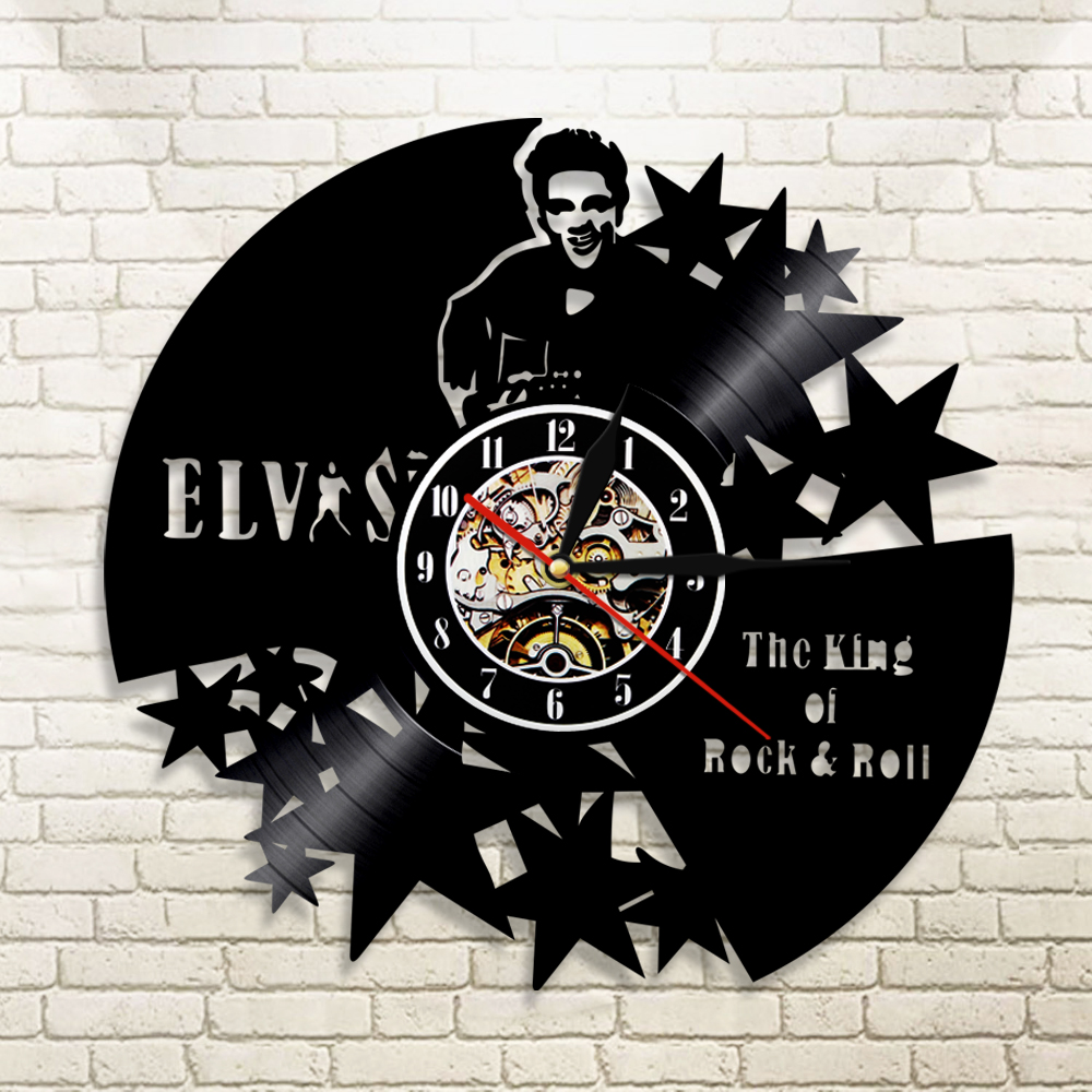 1piece The King Of Rock Amp Roll Elvis Vinyl Record Laser