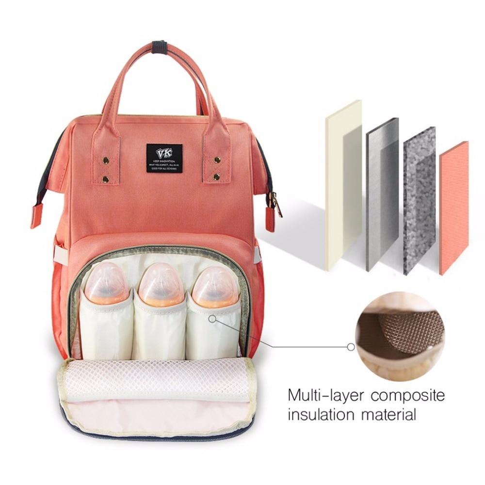 Mummy Bag Waterproof Large Capacity Stuff Carrier Travel Nursing Bag Baby Care Nappy Changing Bag
