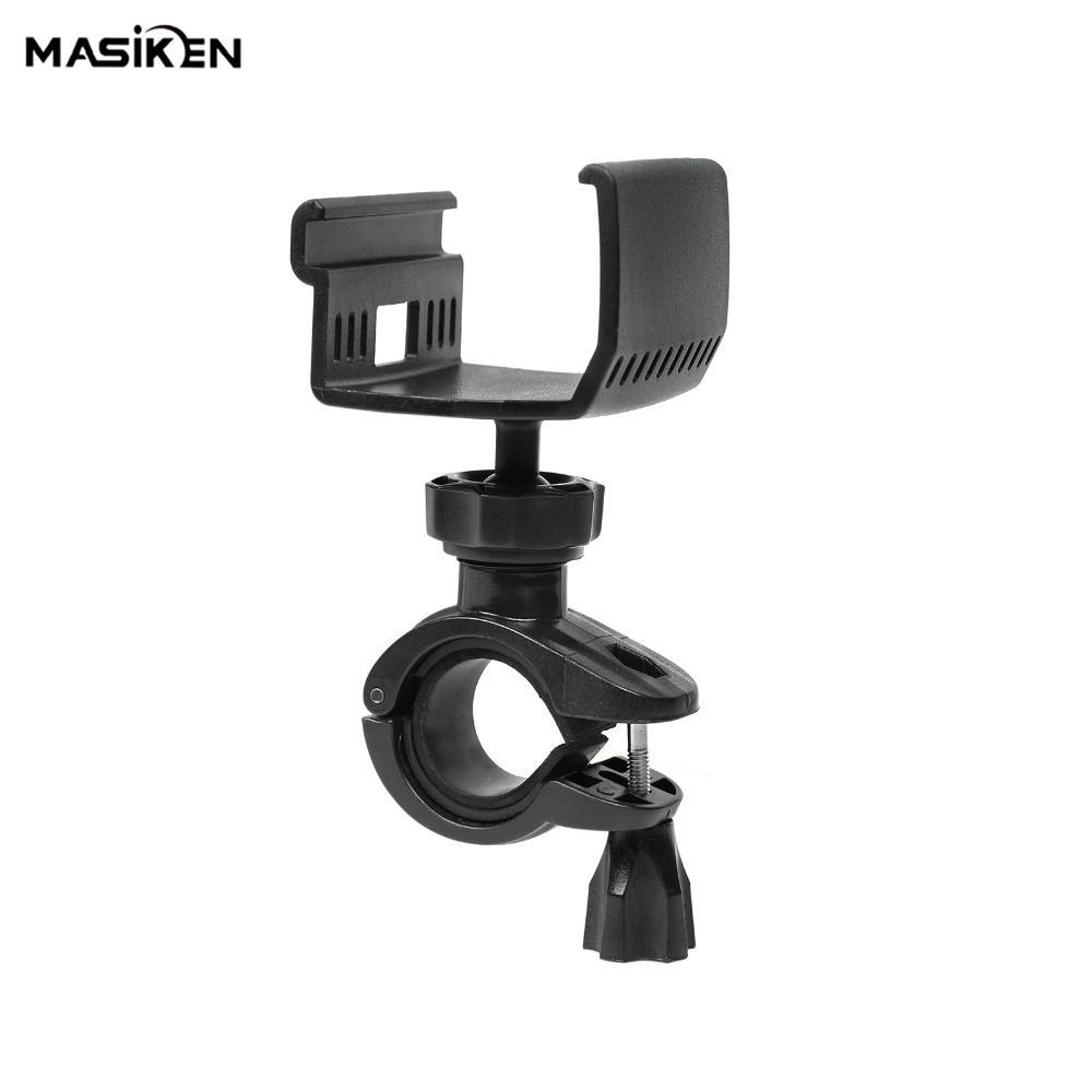 MASiKEN Bicycle Holder Mount Bracket Stand for DJI Mavic Air/Mavic Pro Drone Transmitter Remote Controller Ball Joint Rotatable