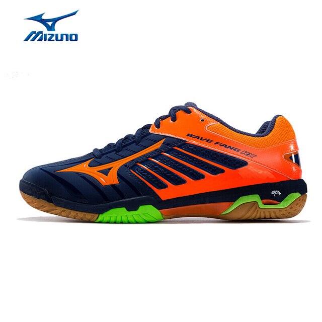 MIZUNO Men WAVE FANG RX2 Badminton Shoes Anti-Slip Wearable Professional Sport  Shoes Cushioning Training Shoes 71GA170554 XYY074 83966d53972