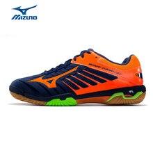 Mizuno Для мужчин волна Клык RX2 Обувь для бадминтона противоскользящие носимые профессиональные спортивная обувь амортизацию Training Обувь 71GA170554 XYY074