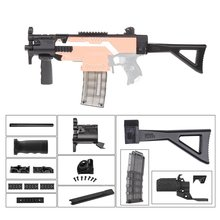 Exquisite High Strength Plastic Mod F10555 3D Printing MP Style Module K Combo 11 Items for Nerf Stryfe Blaster DIY Toys Gun Hot