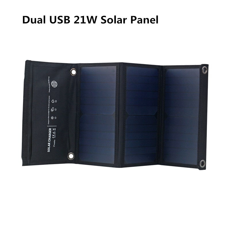 solar charger 21w 1200ma solar panels charger with usb port solar battery charge power for mobile phones 5v usb portable Letsolar Dual USB 21W Solar Panel For IOS Android Mobile Phones Tablet PC Foldable Solar Battery Portable Solar Charger
