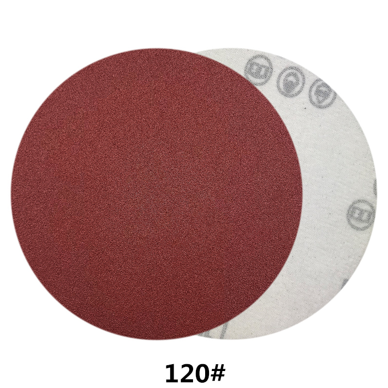 Image 4 - POLIWELL 10PCS 4 Inch 100mm Red Dry Sanding Discs Sandpaper Grit 40~2000 Flocking Back Sanding Paper Auto Furniture Polishing-in Abrasive Tools from Tools