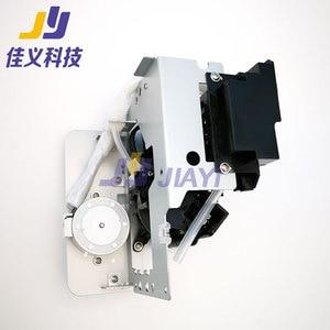 Image 4 - Sıcak satış ve en iyi fiyat DX5 baskı kafası mürekkep pompası sistemi baskı kafası temizleme meclisi kapak istasyonu Mutoh VJ1604 mürekkep püskürtmeli yazıcı
