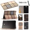 Высокое качество Бумажник PU кожаный Чехол Для Samsung Galaxy Tab a6 10.1 2016 T585 T580N T580 tablet мода стенд случае