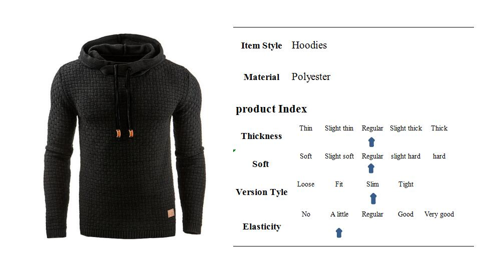 Covrlge Hoodies Men Sweatshirt 8