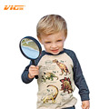 VICVIK Brand Boys T Shirt Dinosaur Children Boy Clothes T-shirts for Baby Boys Long Sleeve Baby Shirt Autumn Spring Kids Clothes