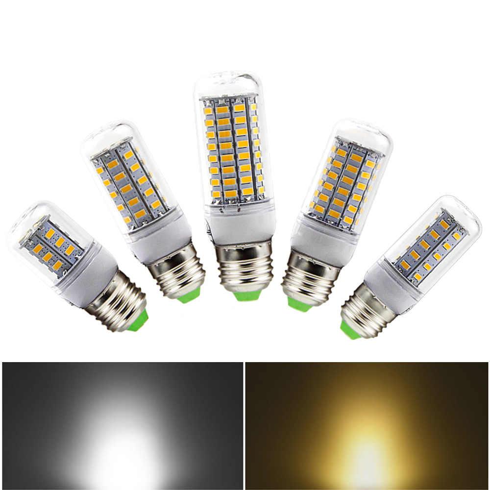 SMD 5730 E27 светодиодный светильник 5730SMD светодиодный свет кукурузы светодиодный лампы 24/36/48/56/69/72/89 Светодиодная настольная лампа люстры лампы в форме свечи лампы освещения
