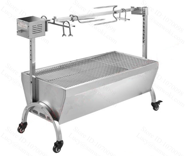Aliexpress Com   Buy Large Stainless Steel 135mm 60kg Bbq