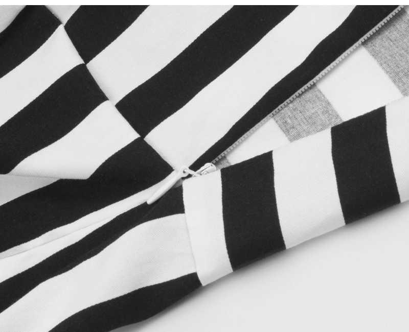مخطط خمر بذلة أنيقة قصيرة رومبير قطعة واحدة النساء الرجعية عارضة Playsuits 2019 الصيف امرأة مثير أسود أبيض وزرة