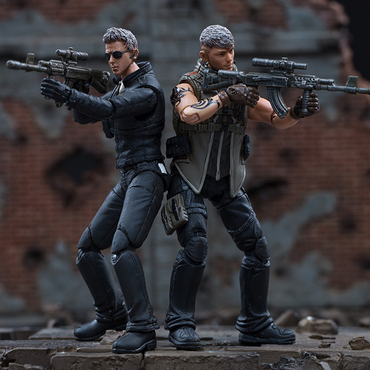 1/18 JOYTOY Action Figure CF Crossfire Defense WOLF And BLADE Game Soldier Figure Big Sale Today Free Shipping