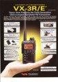 YAESU VX-3R Dual Band Handy Mini Walkie Talkie With 4m band(66-88MHz) & 2m band(136-174MHz) Receiver