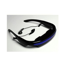 52 Inch Virtual Screen 3D Glasses Built In 4GB Ultra Portable Personal Theater Digital Glasses Headset