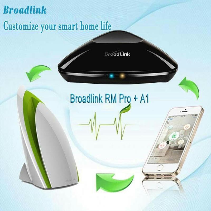 Broadlink Rm2 RM Pro Wifi Controller A1 E Air Quality Detector IR RF Wifi Intelligent Remote