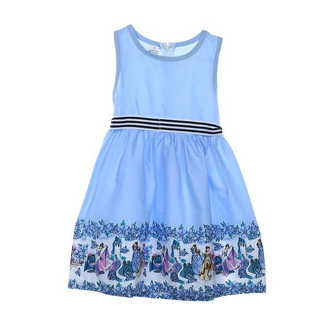 Baby Mädchen Kleidung Kleinkind Baby Mädchen Ärmelloses Kleid Kinder ...