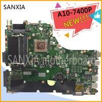 KEFU X550ZE Laptop motherboard for ASUS X550ZA VM590Z X550ZE NoteBook Computer Test original motherboard A10 7400P LVDS