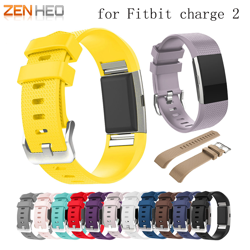 for fitbit charge 2 watch strap band Silicone watchband replacement watch band For Fitbit charge2 bracelet smart wristbands