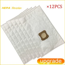 12pcs 진공 청소기 먼지 봉투 커비 세대 3 합성 G3 G4 G5 G6 G7 2001 다이아몬드 SENTRIA 2000