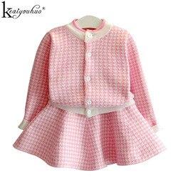 2020 outono do bebê meninas roupas de manga longa agasalho para meninas esporte terno 2 pçs roupas terno crianças conjuntos 2 4 5 6 anos