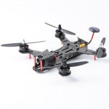 QAV220 Balap Drone Quadcopter Kit RTF FPV 2204 2300KV 700tvl Kamera F3 FC Badai Racing 3 K Serat Karbon