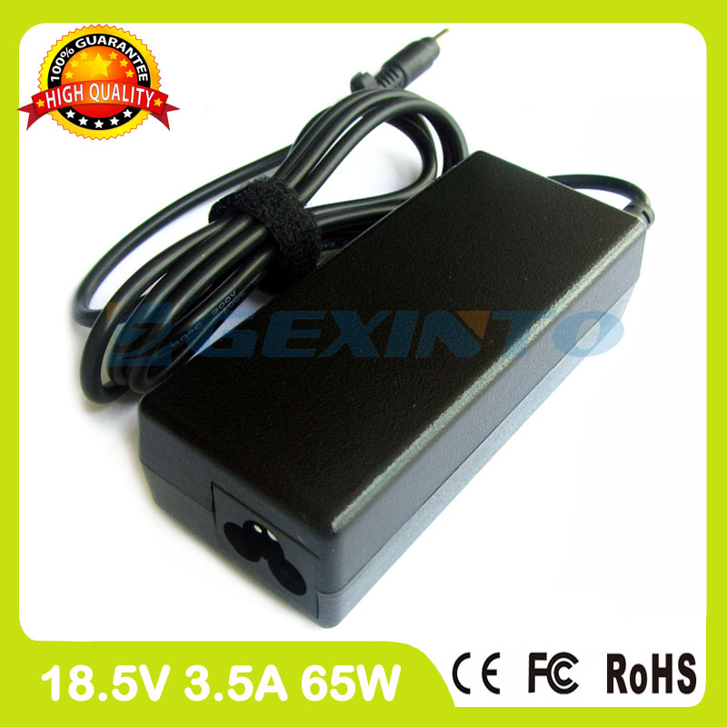 18.5V 3.5A 65W ac power adapter 367760-001 371790-001 laptop charger for HP Pavilion tx1000 tx1000Z tx1100 <font><b>tx1200</b></font> tx1300 tx1400 image
