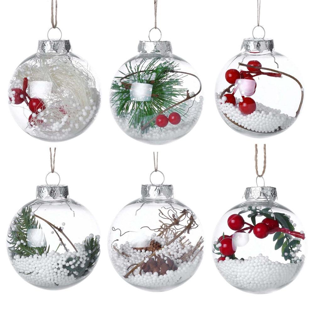 Christmas Tree Drop Ornaments Xmas Pendant Hanging Ball Christmas Decorations For Home 2018