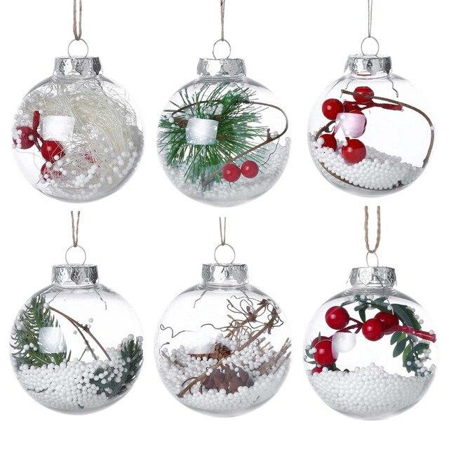 Boże narodzenie Drzewa Drop Ozdoby Xmas Wisiorek Wiszące Kulki Boże Narodzenie Dekoracje Dla Domu 2018