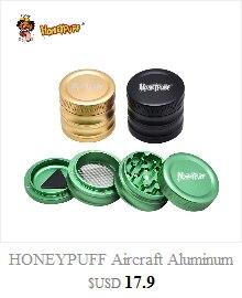 Honeypuff Премиум в виде восьмиугольника с пластиковая бутылочка