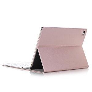 Image 4 - Lüks Klavye Kılıf Huawei MediaPad M5 10 10.8 deri kılıf Standı Bluetooth klavye tablet kılıfı için Huawei M5 Pro 10.8