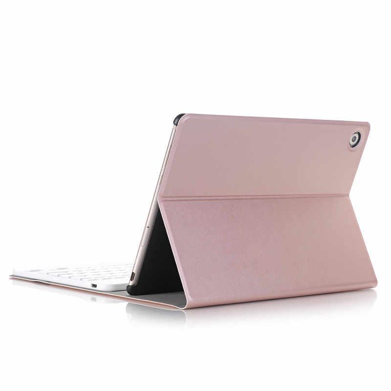 Роскошный чехол с клавиатурой для huawei MediaPad M5 10 10,8 ''кожаный чехол подставка bluetooth-клавиатура для планшета чехол для huawei M5 Pro 10,8