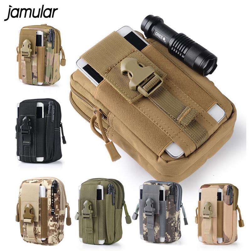 JAMULAR Universal Outdoor Sport Hip Waist Belt Bag Wallet Purse Funda - Accesorios y repuestos para celulares