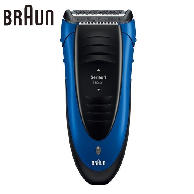 Original Brau Shaver190 Alternativo máquina de Afeitar Eléctrica Recargable Afeitado y Depilación Maquinilla de Afeitar Eléctrica Para Los Hombres de Seguridad Azul
