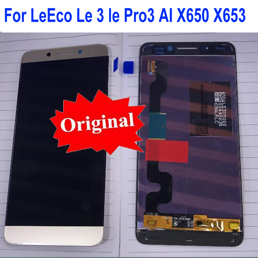 Original Best LCD Display Touch Panel Screen Digitizer Assembly Sensor For LeTV LeEco Le3 <font><b>Le</b></font> 3 lePro3 AI X650 X653 <font><b>X651</b></font> X656 image