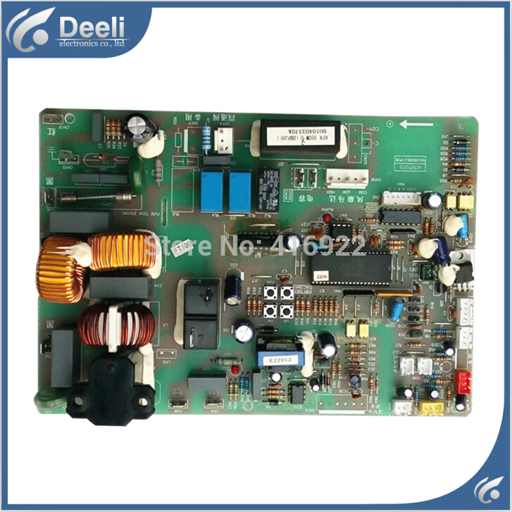 95% new good working for Haier air conditioning computer board KFR-28 KFR-35GW/UDBPJXF(ZXF) 0010403370A board on sale wire universal board computer board six lines 0040400256 0040400257 used disassemble