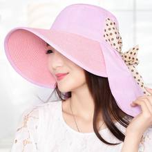 Summer Anti-Uv Women Straw Hat Summer Outdoor Shade Sunhat Female Beach Cool Caps Breathable Absorbent Straw Hats