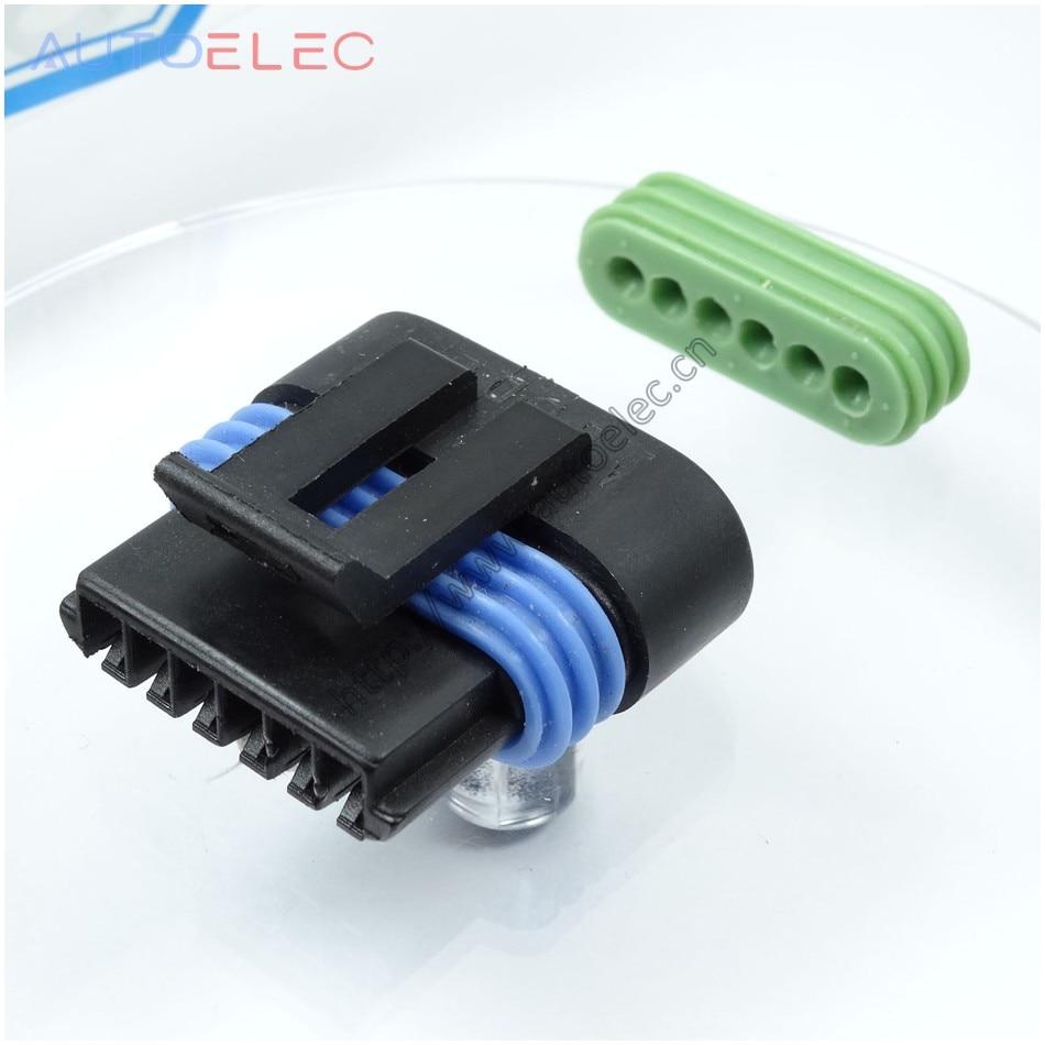 small resolution of aliexpress com buy 6way 12162210 metri pack housings car 12162210 6way delphi 6 way wiring harness connectors