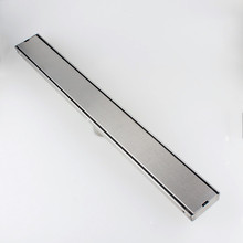 24inch 60cm SUS304 Stainless Steel linear Shower Drain Tile Inlay Wetroom Floor Drain 11 212