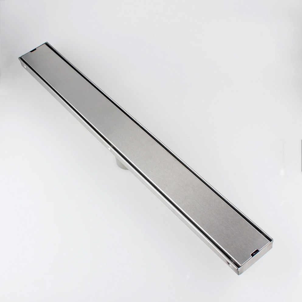 24inch 60cm sus304 stainless steel linear shower drain tile inlay wetroom floor drain strainer 11 212