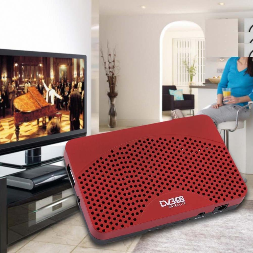 Mini Size 1080P DVB S2 Digital Satellite Receiver m3u IPTV Combo TV Tuner Support Wifi Youtube