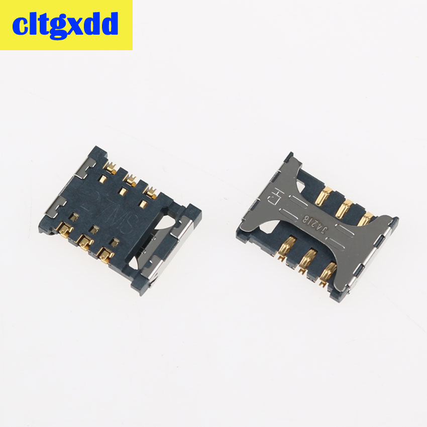 cltgxdd For Samsung Galaxy J7 j5 j3 j1 P709 G5308W G5306 G5309W Memory Card Tray Slot Holder Socket Connector(China)