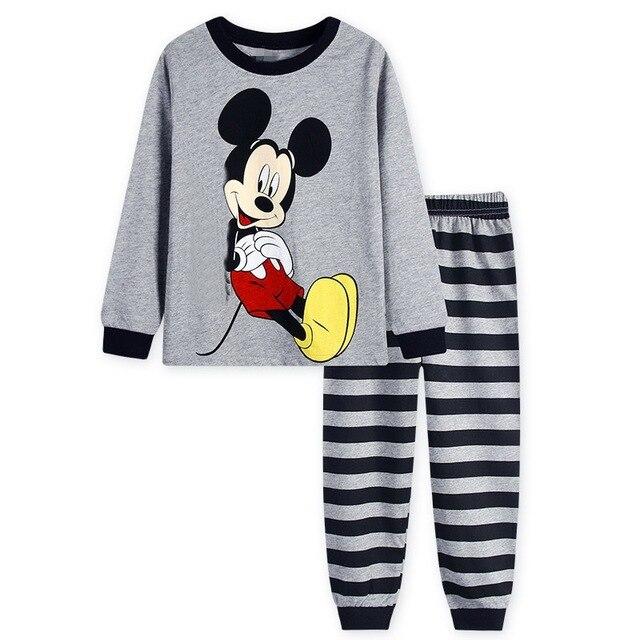 30e6b5637aac Aliexpress.com   Buy Kids Pajama Sets Boys Sleepwear 2 7 Years Girls ...