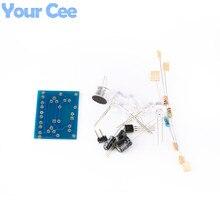 Voice Control LED Melody Light LED DIY Electronic Production Kit Component Parts Design