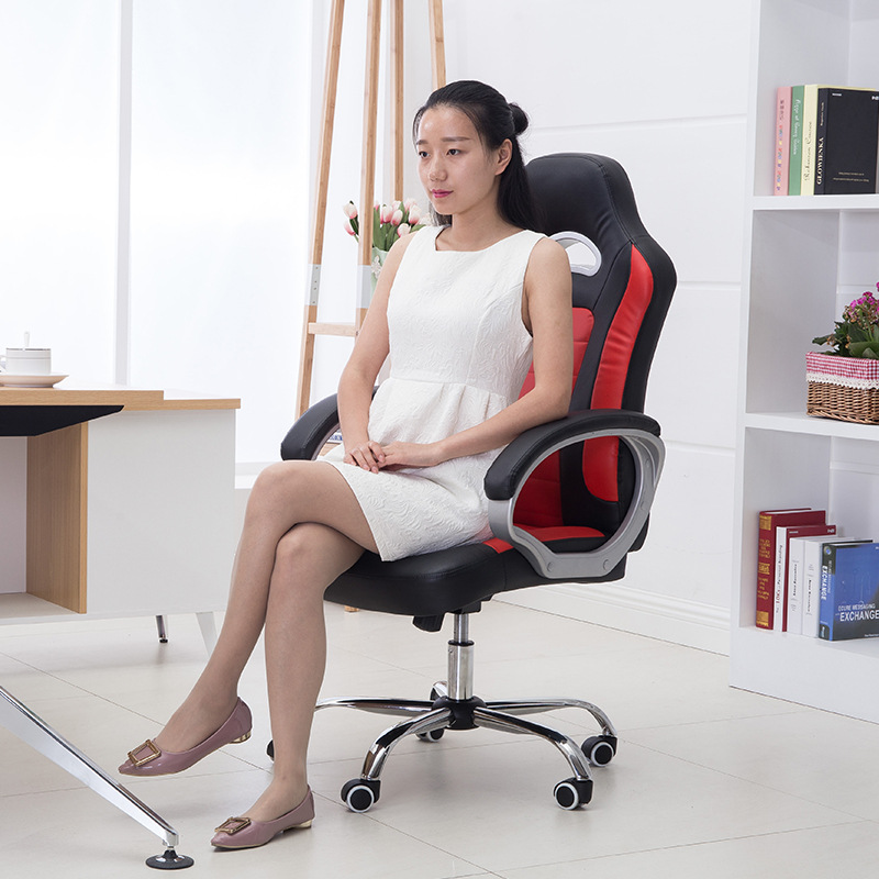 High Quality Leisure Lying Computer Gaming Chair Lifting Rotary Office Chair Comfortable Ergonomic Comfortable Boss Chair 240337 ergonomic chair quality pu wheel household office chair computer chair 3d thick cushion high breathable mesh
