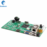 H.265 16CH 5MP CCTV NVR Board HI3536 ONVIF Network Video Recorder Module Motion Detect With HDD Cable
