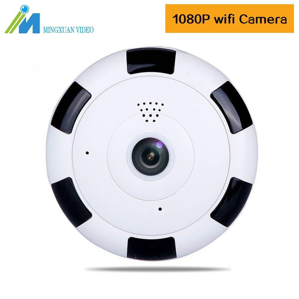 360 Degree Wireless Panoramic Camera Mini 1080P Wi-fi Fisheye Security IP Camera 2MP Video Built-in MIC Home Smart Surveillance нивелир ada cube 2 360 home edition a00448