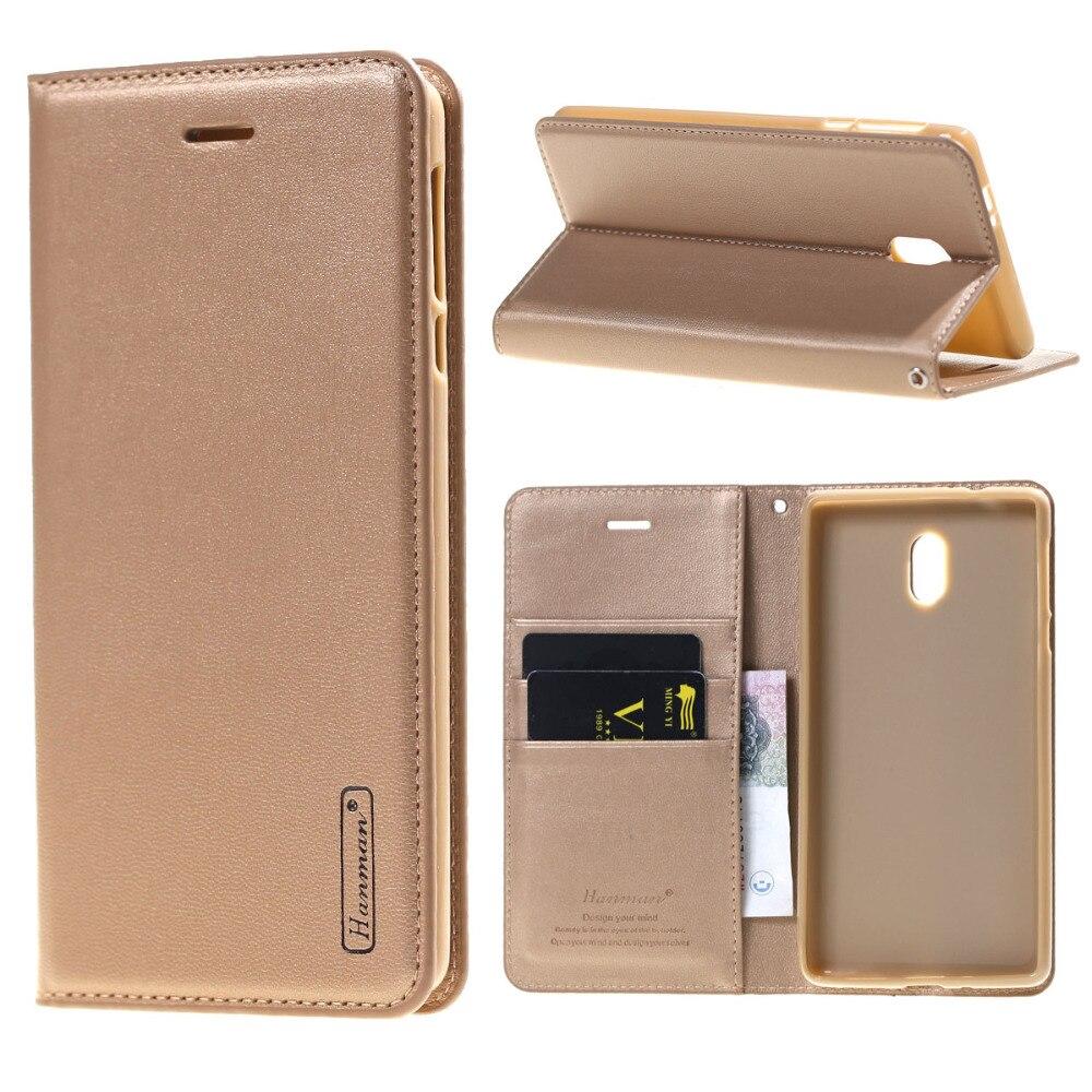 Hanman Pour Nokia 3 5 6 Cas En Cuir De Luxe Portefeuille Flip Stand de Couverture de Cas Pour Nokia 6 Cas Téléphone Mobile Cas Coque Fundas