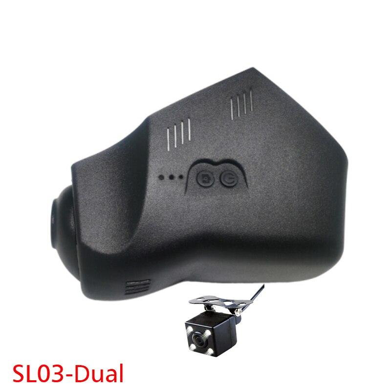 1080P WiFi App Dual Car DVR Dash cam for Land rover Evoque Discovery Freelander Discovery 4/XF/X-JL XFL XE F-pace Novatek 96655