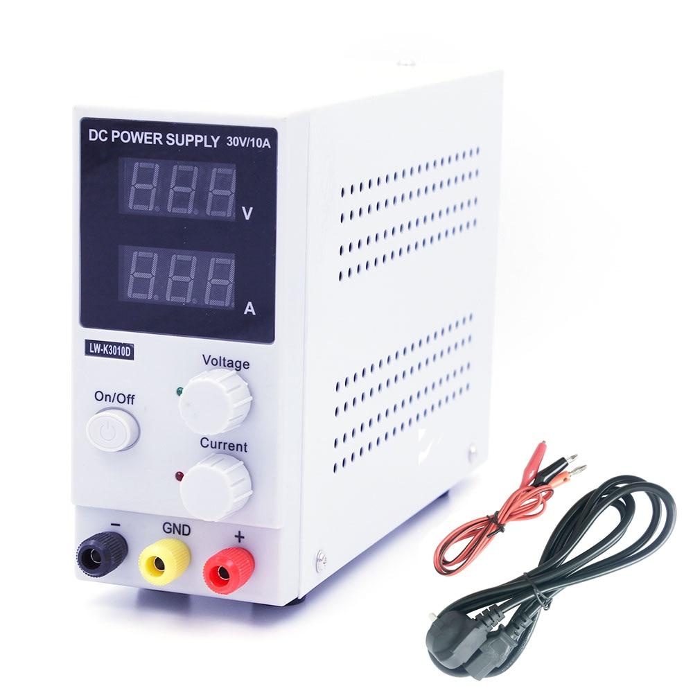 Neue 30 v 10A LED Display Einstellbar Schalt Spannung Regulierung DC Netzteil LW K3010D Laptop Reparatur Rework-in Schaltnetzteil aus Heimwerkerbedarf bei AliExpress - 11.11_Doppel-11Tag der Singles 1